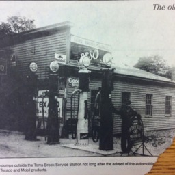 Undated clipping, Toms Brook Service Station.pdf