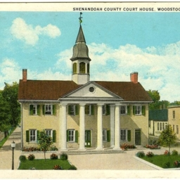 Shenandoah County Court House, Woodstock, Virginia