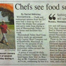Chefs See Food Sources Up-Close July 22 2015 Northern Virginia Daily.pdf
