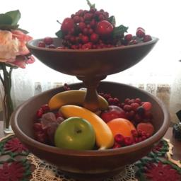 Fruit and Nut Bowls