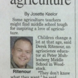 Educator Spotlights Love of Agriculture July 21 2015 Northern Virginia Daily A1&A2.pdf