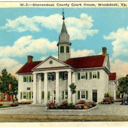 Shenandoah County Court House, Woodstock, Va.