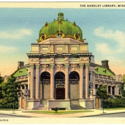 The Handley Library, Winchester, VA.