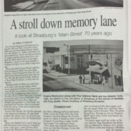 A Stroll Down Memory Lane- A Look at Strasburg's Main Street 70 Years Ago July 18 2015 Northern Virginia Daily A4.pdf