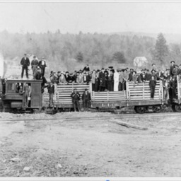 Dinky Railroad Excursion Train