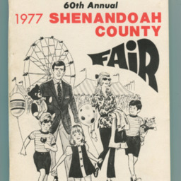 1977 Shenandoah County Fair Premium Book