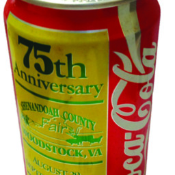 75th Anniversary Coke Can