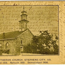 Old Lutheran Church, Stephens City, VA.