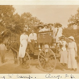 Going to camp. Aug. 26 1913