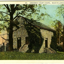 Greenway Court Chapel, Near Millwood Virginia.
