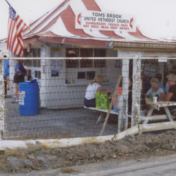 United Methodist Men Food Stand