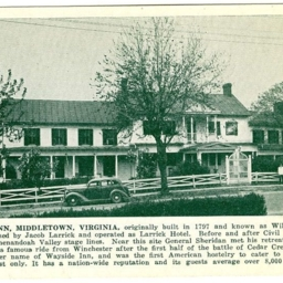 Wayside Inn, Middletown, Virginia