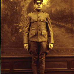 Unidentified World War One Soldier