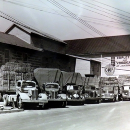 Triplett and Vehrencamp Delivery Trucks
