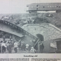 Something Old: Woodstock Train Wreck