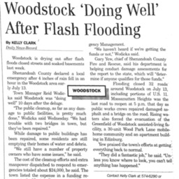 Woodstock 'Doing Well' After Flash Flooding July 25 2015 Daily News Record B2.pdf