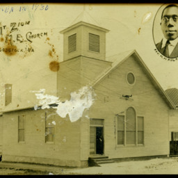 New Mt. Zion M.E. Church