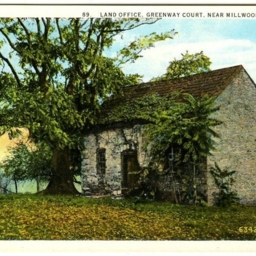 Land Office, Greenway Court, Near Millwood, Virginia