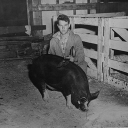 Eugene Fleming and Hog
