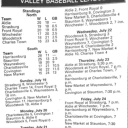 Valley League Baseball Standings July 23 2015 Northern Virginia Daily.pdf