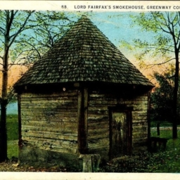 Lord Fairfax's Smokehouse, Greenway Court, Virginia
