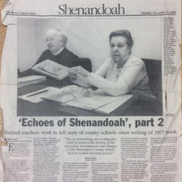 'Echoes of Shenandoah', part 2